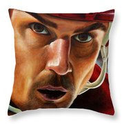 Stevie Y Throw Pillow by Marlon Huynh