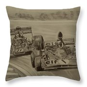 Stewart And Emerson Throw Pillow