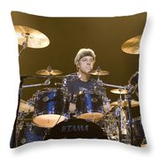 Stewart Copeland Of The Police Throw Pillow