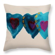 Stiched Together Throw Pillow
