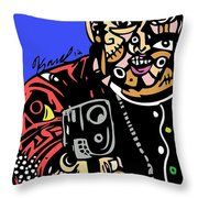 Stick And Move Throw Pillow