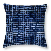 Stick Labyrinth Throw Pillow