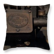 Stickney Hit And Miss Engine Throw Pillow