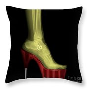 Stiletto High-heeled Shoe Throw Pillow