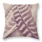 Still And Silent Throw Pillow