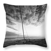 Still Ashore Throw Pillow