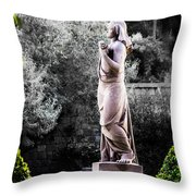 Still Beauty Throw Pillow