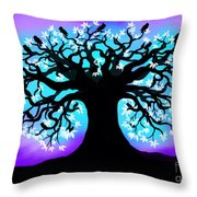 Still Counting Crows Throw Pillow