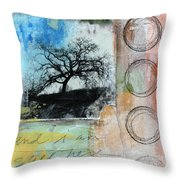 Still Here Throw Pillow