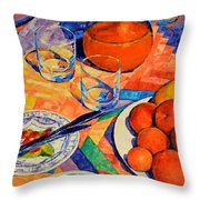 Still Life 1 Throw Pillow