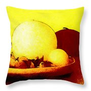 Still Life As We Know It Throw Pillow