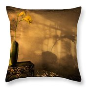 Still Life - Day Lily Throw Pillow