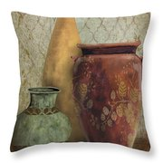 Still Life-g Throw Pillow by Jean Plout