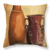 Still Life-h Throw Pillow by Jean Plout