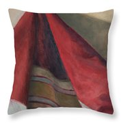Still Life - Hanging Fabric Throw Pillow