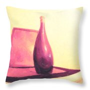 Still Life In Pink Throw Pillow