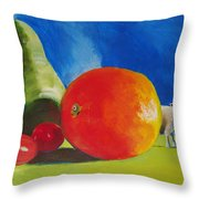 Still Life Painting Throw Pillow