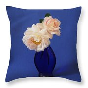 Still Life Wild Rose Throw Pillow