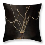 Still Life With  Poppy Throw Pillow