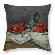 Still Life With Tomatoes Throw Pillow