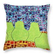 Still Pears Throw Pillow
