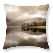 Stillness Of The Water Throw Pillow