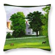 Stillpoint Farm Throw Pillow
