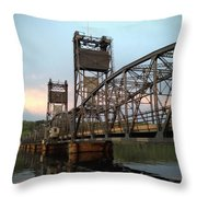 Stillwater Lift Bridge Throw Pillow