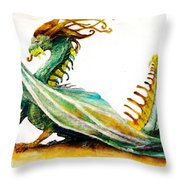 Stinger By Tom Kidd Throw Pillow