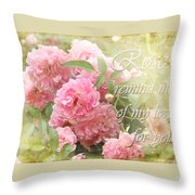 Stirred Memories Throw Pillow
