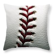 Stitches I Throw Pillow