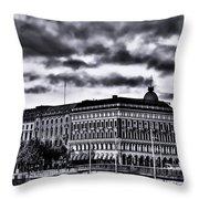Stockholm Bw V Throw Pillow