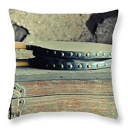 Stoke The Fire Throw Pillow