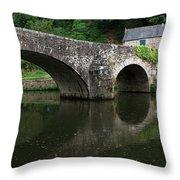 Stone Arch Bridge Throw Pillow