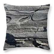 Stone Art Throw Pillow