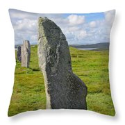 Stone At Callanish IIi Throw Pillow