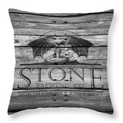 Stone Brewing Throw Pillow
