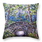 Stone Bridge 2 Throw Pillow