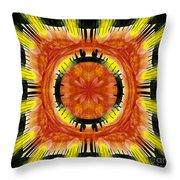 Stone Circle Sunrise Throw Pillow