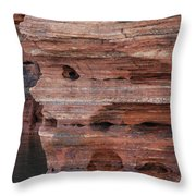 Stone Faced Throw Pillow