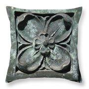 Stone Flower Throw Pillow