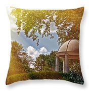 Stone Gazebo Throw Pillow