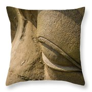 Stone Idol Throw Pillow