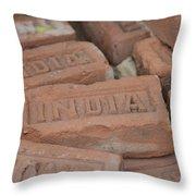 Stone India Throw Pillow