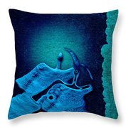 Stone Men 29 C02c - Love Rythm Throw Pillow