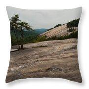 Stone Mountain State Park North Carolina 01 Throw Pillow