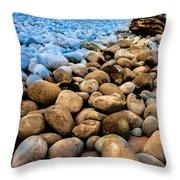 Stone Path Throw Pillow