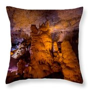 Stone Pillars Throw Pillow