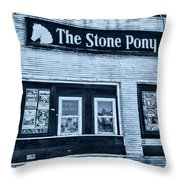 Stone Pony Cool Side View Throw Pillow