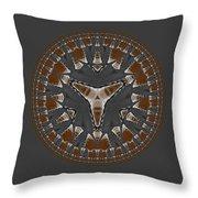 Stone Ridge Mandala Throw Pillow